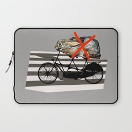 NO RABBITS ON TANDEM BICYCLE Laptop Sleeve