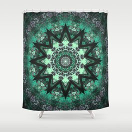 Into the Heart Shower Curtain