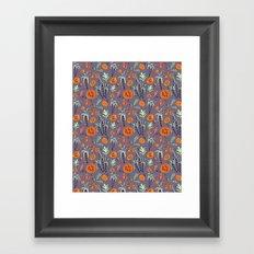 Guava Dusk Framed Art Print
