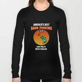 BEST BASS FISHING Lake Phelps Long Sleeve T-shirt