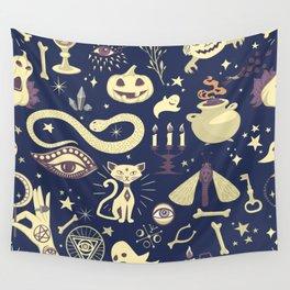 Halloween Magic Wall Tapestry