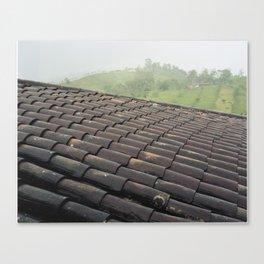 coffee region roof Canvas Print