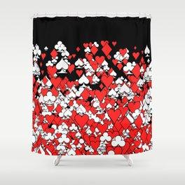 Poker Star II Shower Curtain