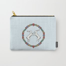 Fighting Hares Carry-All Pouch
