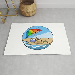 Summer Umbrella Rug