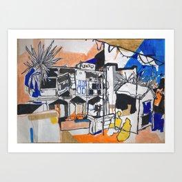 Felixstowe Spa Pavilion View Art Print