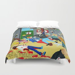 Bad painting number 01 Duvet Cover