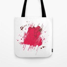 Splash Bear Tote Bag