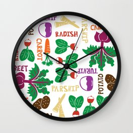 The Roots of All Gardens Wall Clock