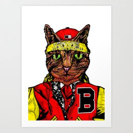 Thai Cat Art Print