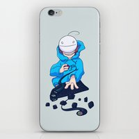 cryaotic iPhone & iPod Skins featuring Cryaotic  by Thais Magnta Canha