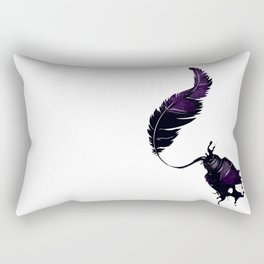 Leaving its mark Rectangular Pillow