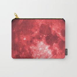 Red full moon Carry-All Pouch