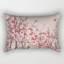 Retro Magnolia Rectangular Pillow