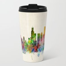 Chicago City Skyline Travel Mug