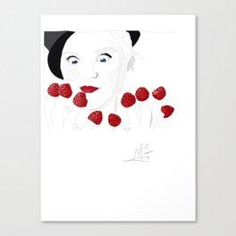 Raspberry Fingers Canvas Print