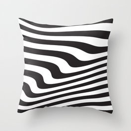 Wave III Throw Pillow