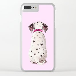 DALMATIAN Clear iPhone Case