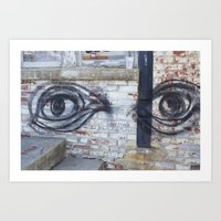 Here's Looking at You, Morgan Art Print