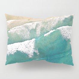 Turquoise Sea Beach Pillow Sham