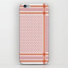 RED KOFIA iPhone Skin