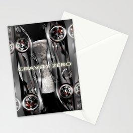 Supercars-Gravity Zero Stationery Cards