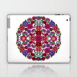 MauindiArts Bouquet Mandala Print Laptop & iPad Skin