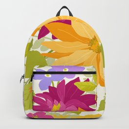 Bold Flowers Backpack