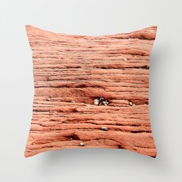 Life in the Cracks Throw Pillow