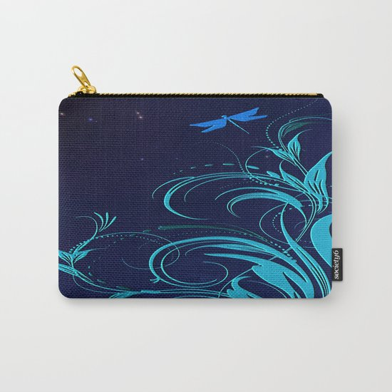 Good Night Dragonfly Carry-All Pouch