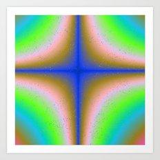 Abstract Fractal 9 Art Print