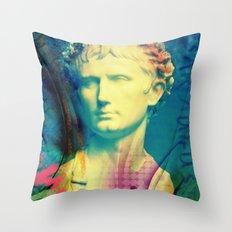 Caesar Augustus Throw Pillow