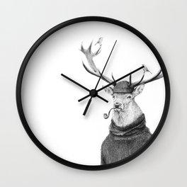 Wild Thinking Wall Clock