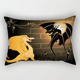 Funny dragons Rectangular Pillow