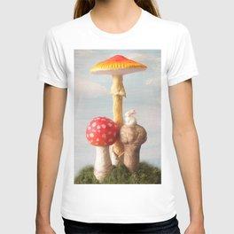 The Poetic Rabbit digital image 2  T-shirt