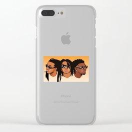 Migoss Charakter Shirt Clear iPhone Case
