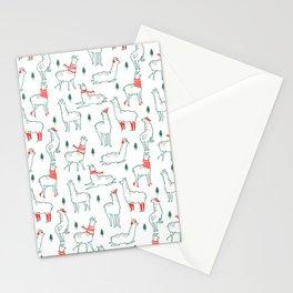 Holiday Llamas Stationery Cards