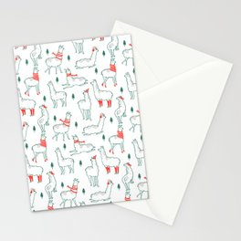 Holiday Llamas Stationery Cards