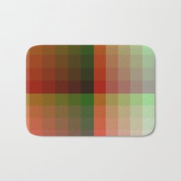 Color harmony ...red , green Bath Mat
