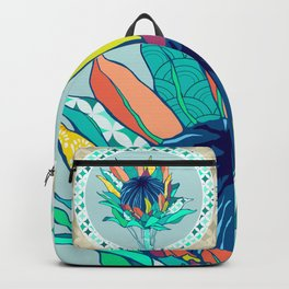 Bohemian Banksia Backpack