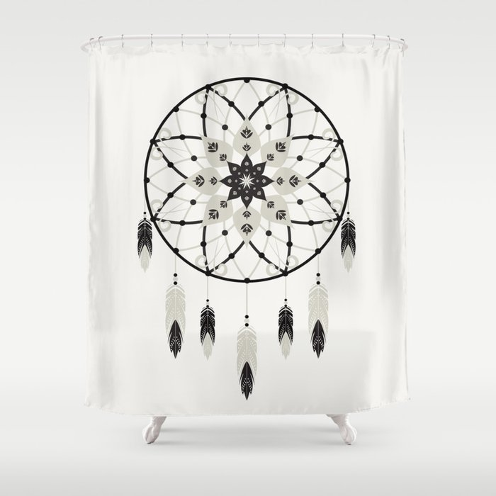 Dreamcatcher Shower Curtain By Bohemiangypsyjane