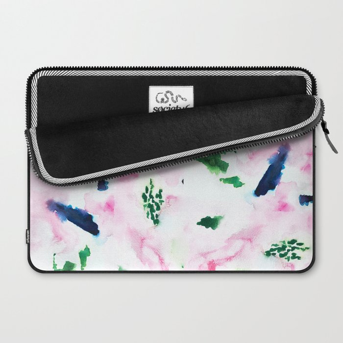 Abstract Watercolor Washout Laptop Sleeve