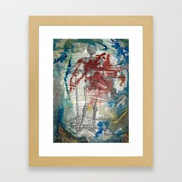 Vesalius Grave digger Framed Art Print