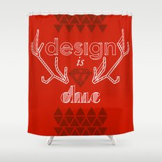 design is chic Shower Curtain