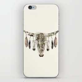 Cow Skull iPhone Skin