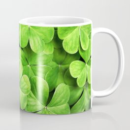 st. patrick day clover background Coffee Mug