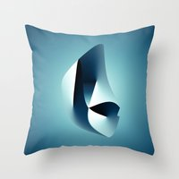 arya Throw Pillows featuring Paradigm by rodric