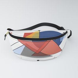 Geometric Abstract #14 Fanny Pack