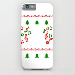 JOY TO THE WORLD Ugly Family Christmas Gift iPhone Case