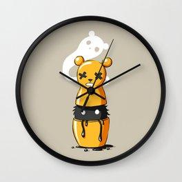 Matryoshka Monster Wall Clock